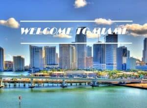 vue centre ville Miami