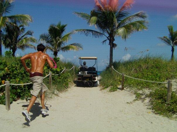 jogging Miami