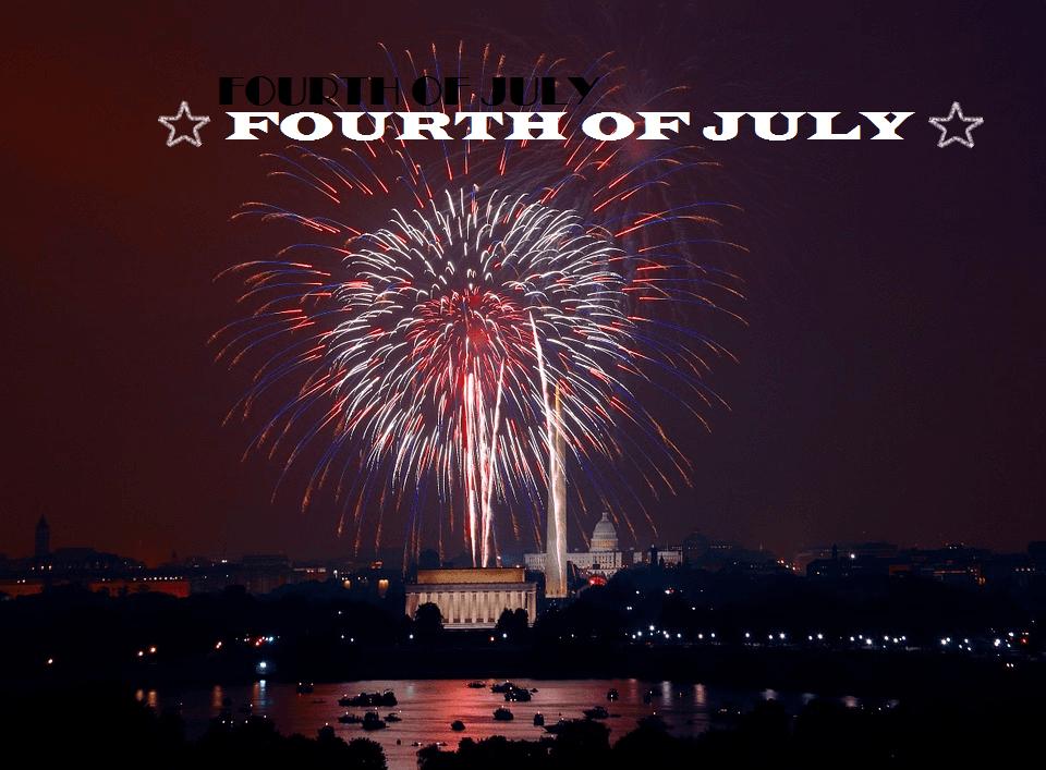 feu d'artifice 4 juillet