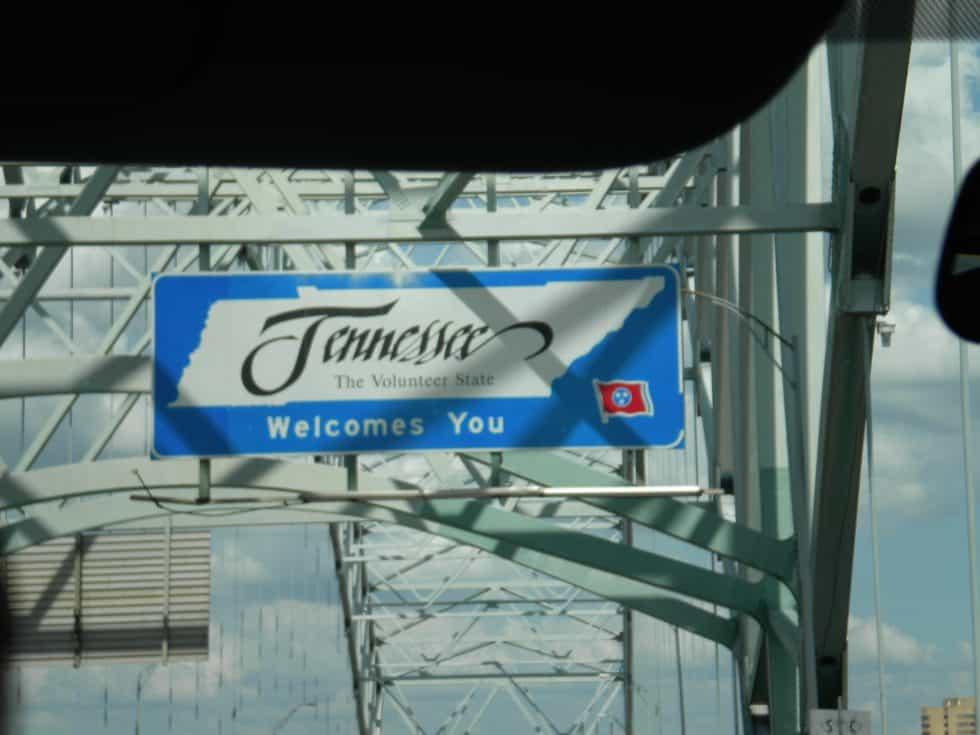 panneau Tennessee