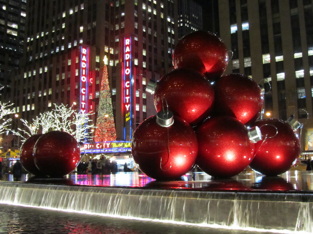 new york boules rouges