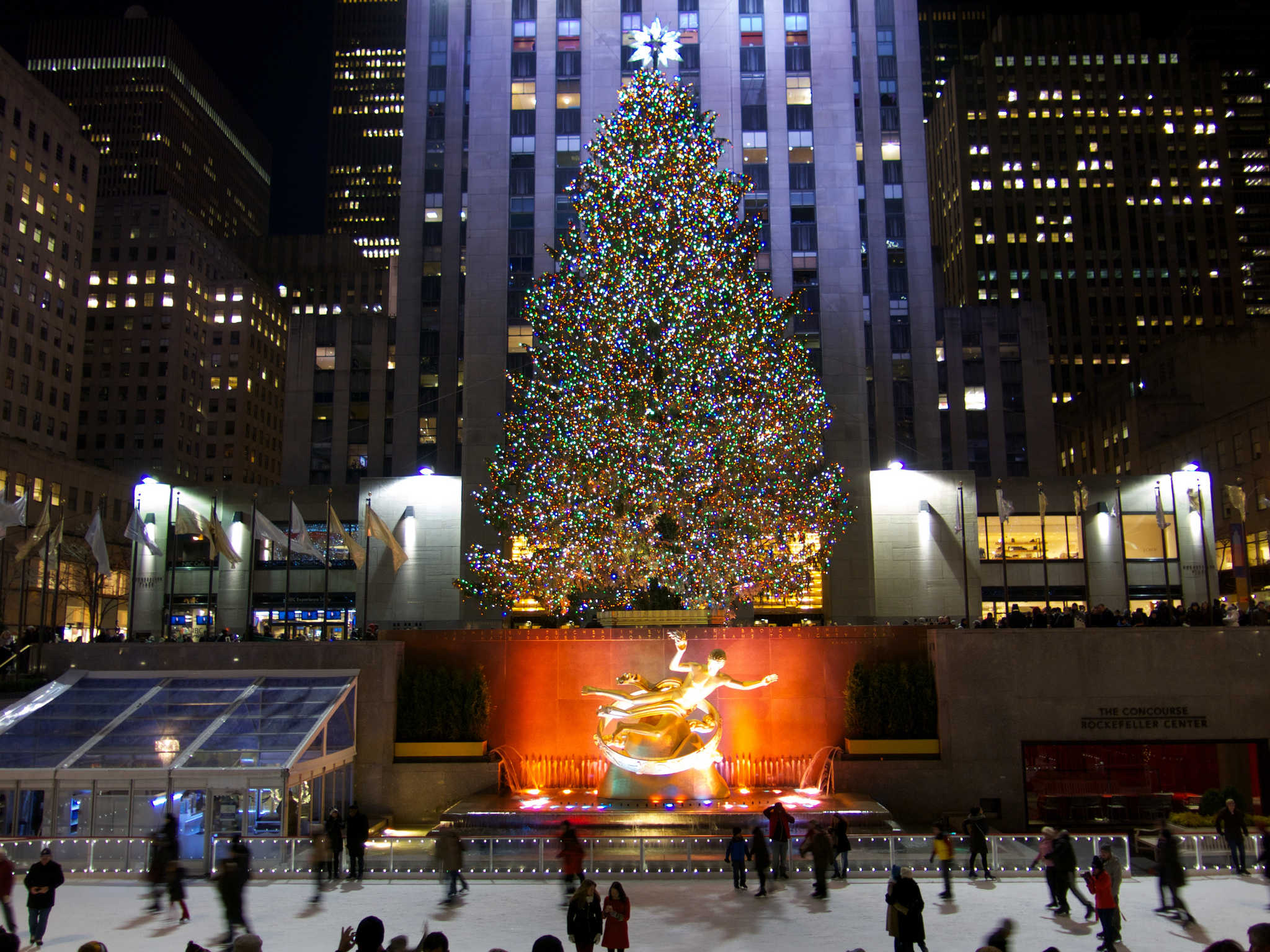 rockfeller center sapin