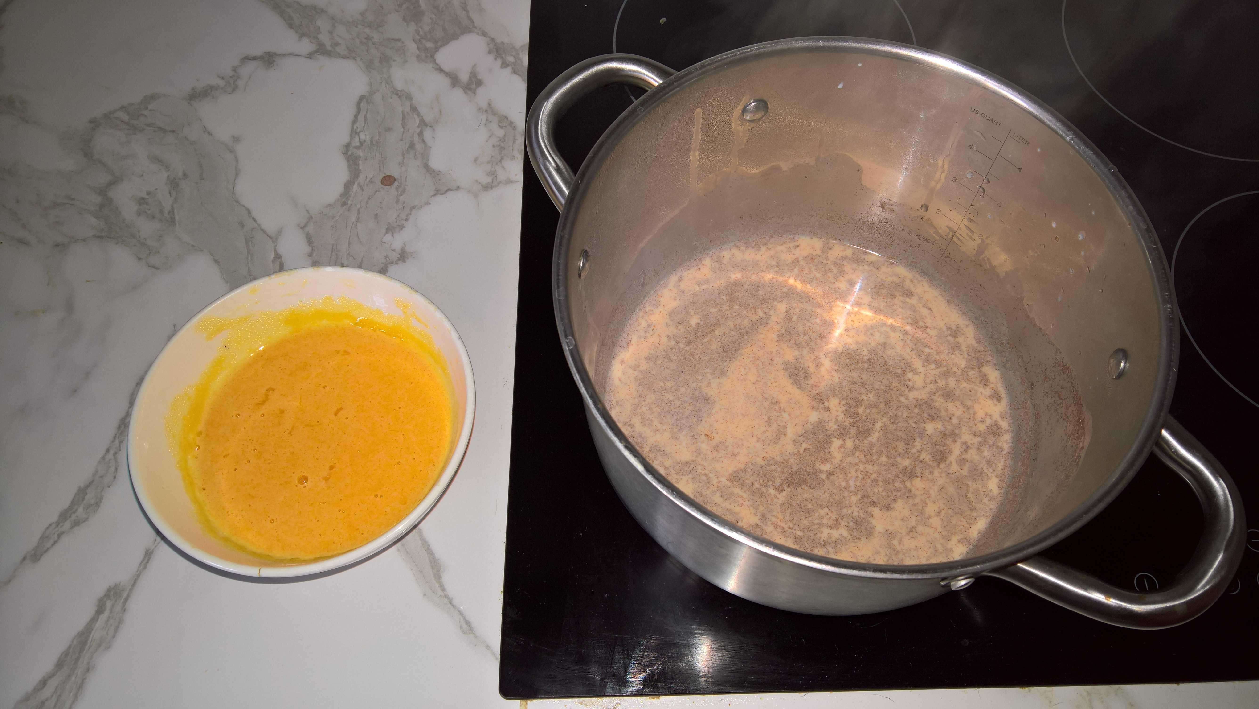 lait de poule préparation