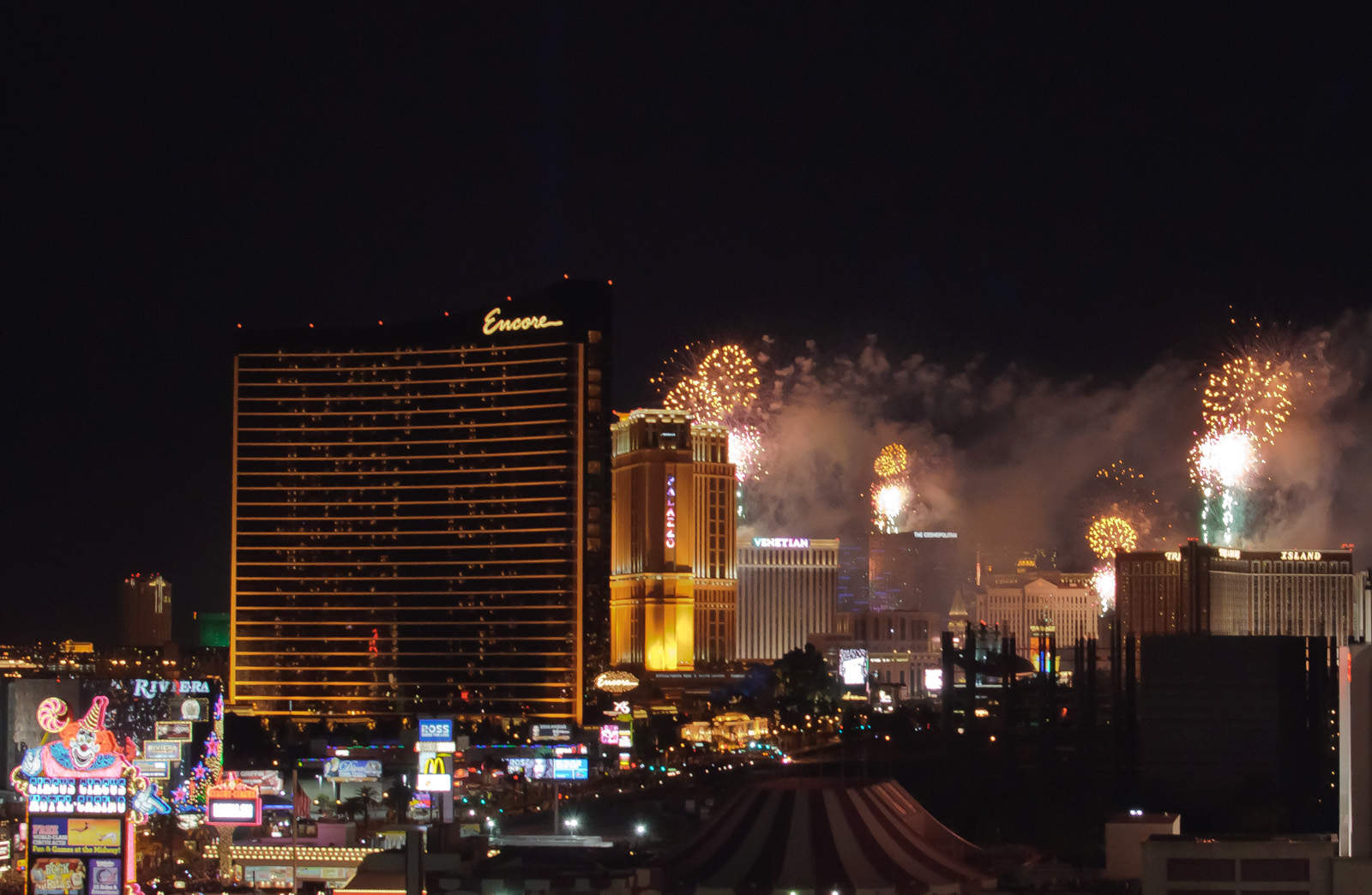 las vegas nouvel an
