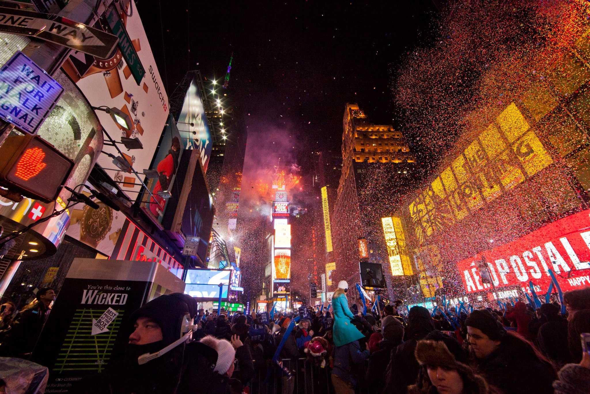 new york nouvel an