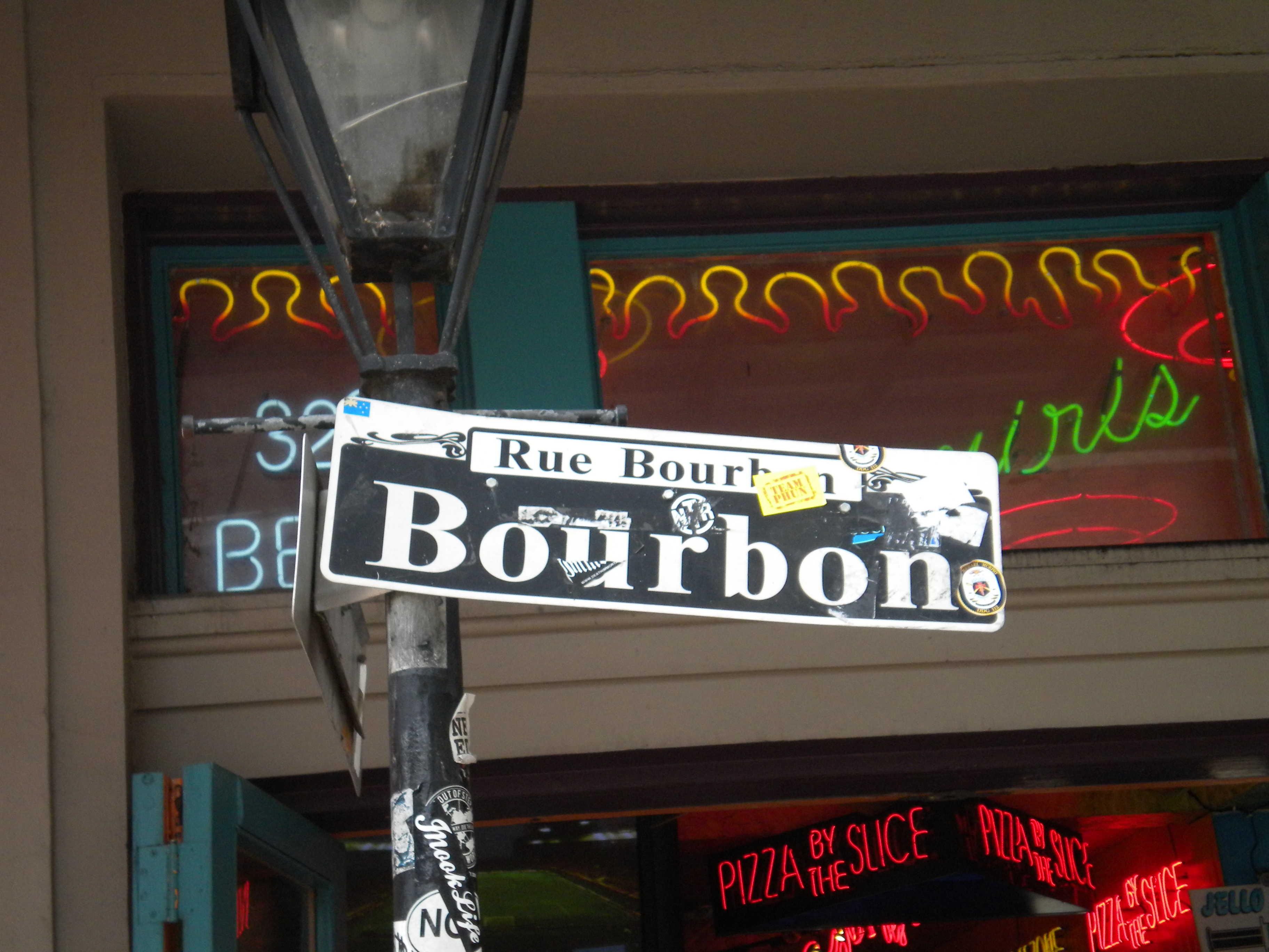 bourbon street panneau