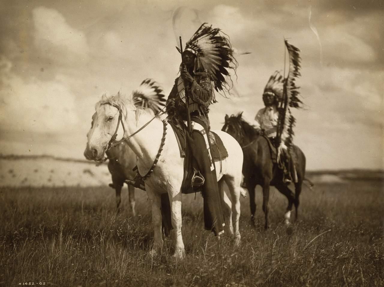 indiens à cheval