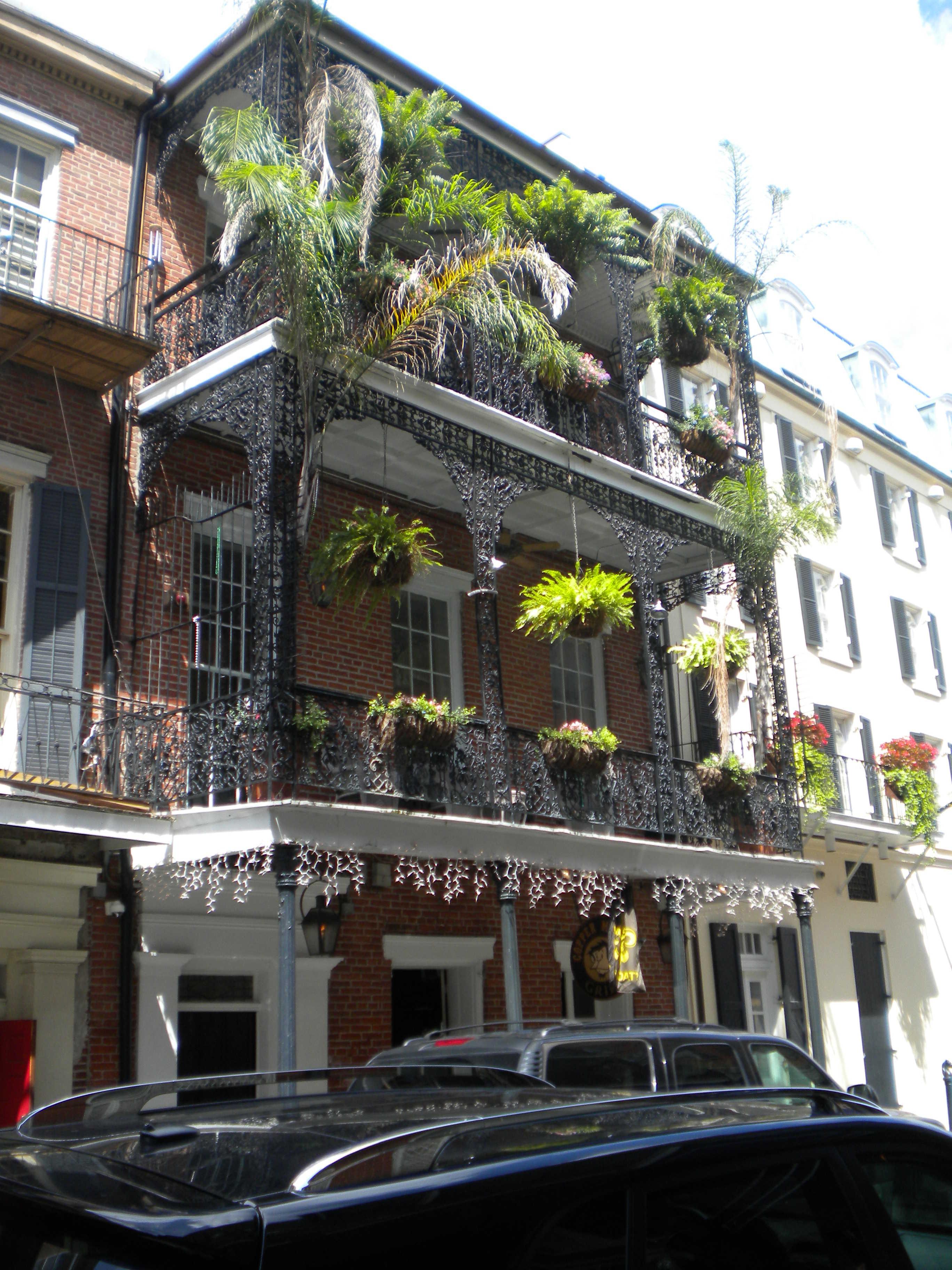 nouvelle orleans balcons