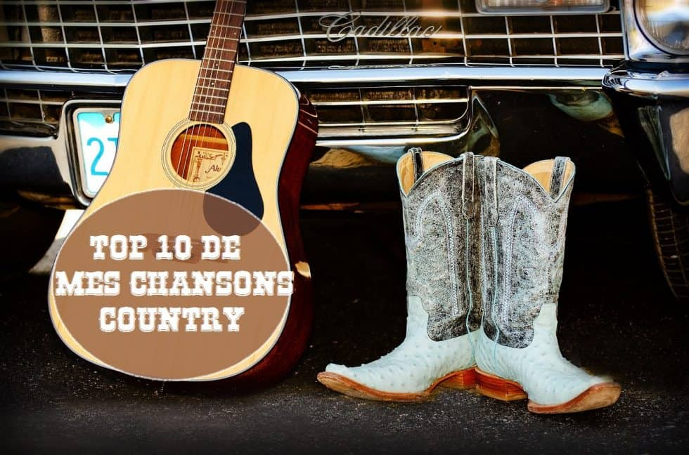 couverture chansons country