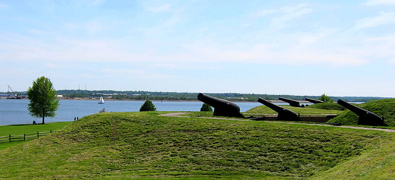 canons de fort mc henry