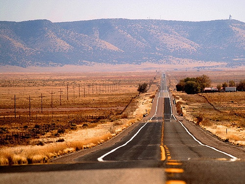 paysage route 66
