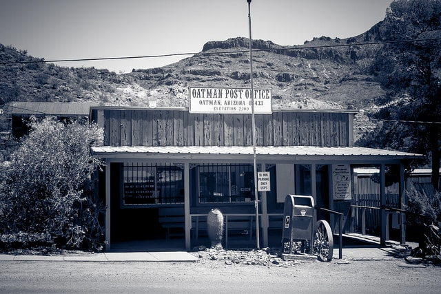 oatman post office