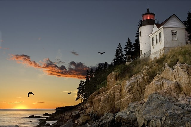phare acadia national park