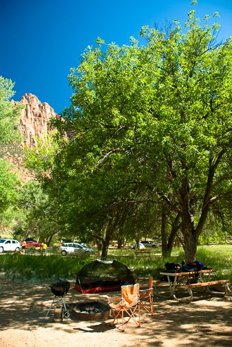 zion national park campground
