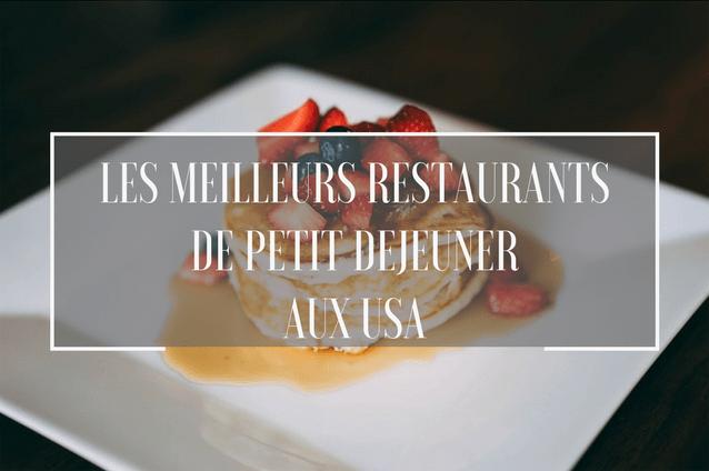 restaurants de petit déjeuner aux états-unis