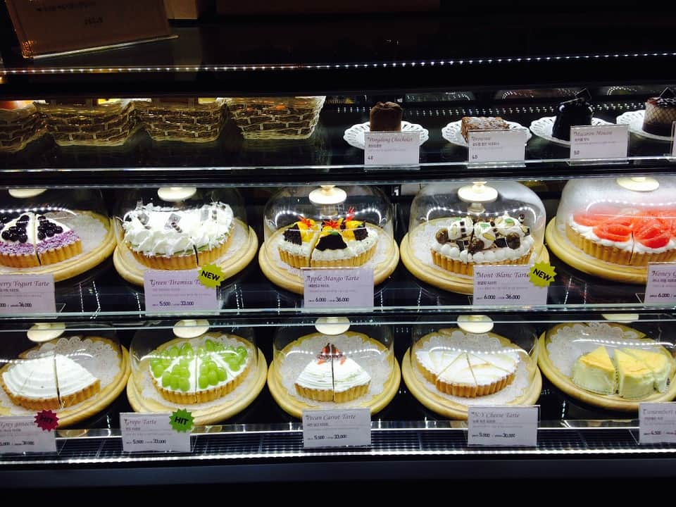gâteaux chez Coco's