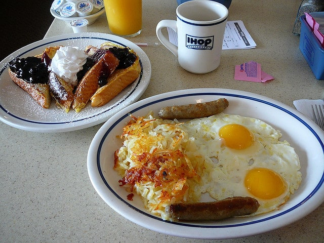 ihop petit déjeuner