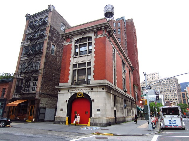 ghosthusters caserne des pompiers new york