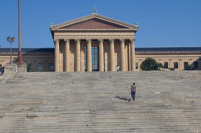 philadephie musée marches de rocky