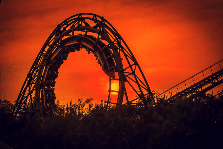 parc d'attractions aux Etats-Unis