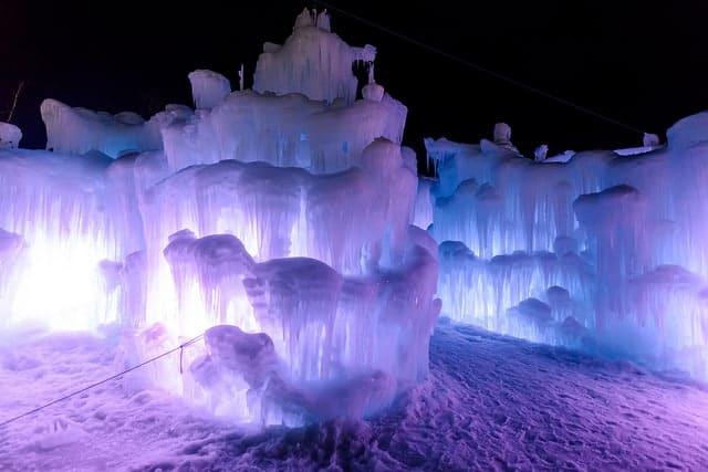 ice castle utah